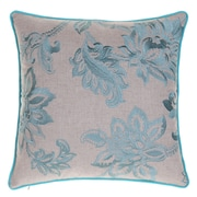14 Karat Home Inc. Embroidered French Country Throw Pillow; Harbor