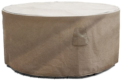 BudgeIndustries English Garden Round Patio Table Cover; 72'' W x 72'' D