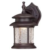 Westinghouse Lighting 3 Light Wall Lantern; 9.75'' H x 7.88'' W x 7.88'' D
