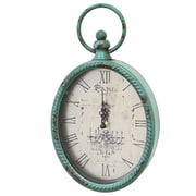 Stratton Home Decor Vintage 11.5'' Wall Clock