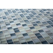 Kellani The Studio 12.13'' x 12.13'' Glass Mosaic Tile in Sky Gaze