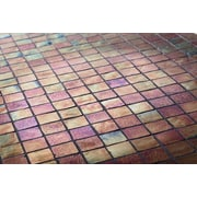 Kellani The Studio 11.75'' x 11.75'' Glass Mosaic Tile in Monarch