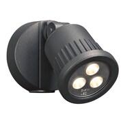PLC Lighting Ledra 1 Head LED Outdoor Spotlight; Bronze