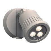 PLC Lighting Ledra 1 Head LED Outdoor Spotlight; Silver