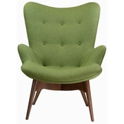 Design Tree Home Featherston Style Contour Lounge Chair; Green
