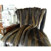 Plutus Brands Fancy Mink Handmade Throw; 90'' L x 108'' W