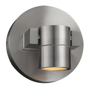 PLC Lighting Lydon 1 Light Flood Light; Brushed Aluminum