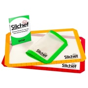 Silchef 3 Piece Non-Stick Silicone Baking Mat Set