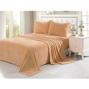 Anna Ricci Velvet Soft Full Sheet Set; Camel
