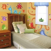 Borders Unlimited Monster Splat Super Jumbo Appliqu  Wall Decal