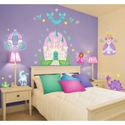 Borders Unlimited Princess Camryn Super Jumbo Appliqu  Wall Decal