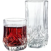 Luminarc Brighton 16 Piece Tumbler Set