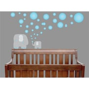Presto Chango Decor Bubbles and Elephant Wall Decal