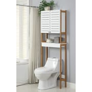 OIA Rendition 23.62'' x 70.25'' Free Standing Over the Toilet Cabinet