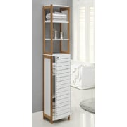 OIA Rendition 14.5'' x 68'' Free Standing Linen Tower