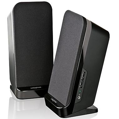 Creative Labs (MF1635) A60 4W 2.0 Desktop Speakers, Black