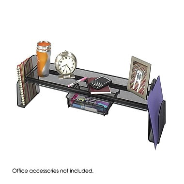Safco® Products Onyx Mesh Off-Surface Shelf, Black