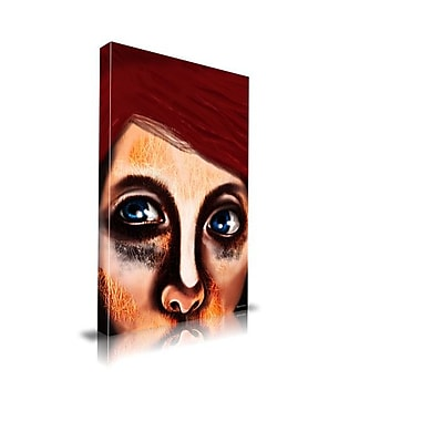 Maxwell Dickson ''Eye Girl'' Painting Print on Canvas; 40'' H x 60'' W