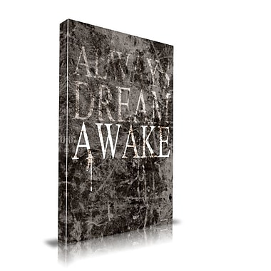 Maxwell Dickson ''Dream Awake'' Textual Art on Canvas; 40'' H x 60'' W
