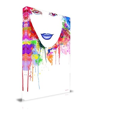 Maxwell Dickson ''Many Colors'' Graphic Art on Canvas; 40'' H x 60'' W