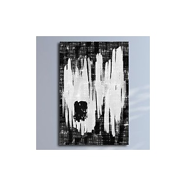 Maxwell Dickson ''Erased Memory'' Graphic Art on Canvas; 24'' H x 36'' W