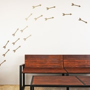Walls Need Love Flying Arrows 30 Piece Wall Decal Set