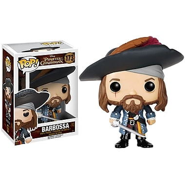Pop! Figurine en vinyle Disney : Pirates, Barbossa