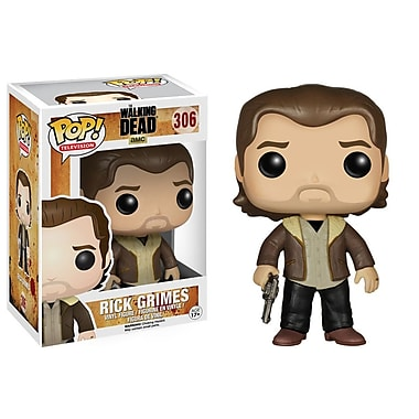 Pop! Figurine en vinyle de télésérie : The Walking Dead, Rick Grimes (Saison 5)