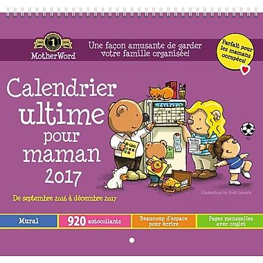 MotherWord 2016/2017 Monthly Wall Calendar, 12