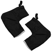 Discount Ramps (62106) ,Black Hand Warmer Gloves for ATV & Snowmobile