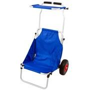 Discount Ramps (BFC-BLUE) ,Blue Folding Beach Fishing Chair Cart