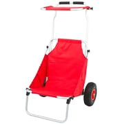 Discount Ramps (BFC-RED) ,Red Folding Beach Fishing Chair & Cart