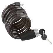 Discount Ramps (CABLE-LOCK-6) ,6 ft. Self Coiling Cable Lock for Bicycles & Motorcycles
