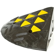 Discount Ramps (KER36R) ,60,000 lb Curb Ramp End Cap Corner with Safety Reflectors