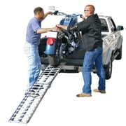 "Discount Ramps (AF-9012-HD) ,89"" Single Aluminum Folding Motocross Off-Road Loading Ramp"