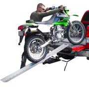 "Discount Ramps (DBF-8206) ,82"" Portable Aluminum Folding Off-Road Motocross Loading Ramp"