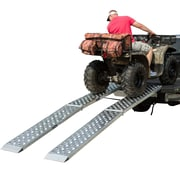 "Big Boy (MF2-14414-EZ) ,Aluminum Dual Runner 144"" x 14"" Big Boy EZ Rizer ATV Loading Ramps"