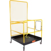 Discount Ramps (WP-48-1000) ,Forklift Safety Work Platform with Extended Fence