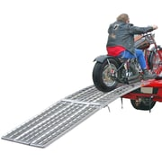 "Big Boy (MF-12038) ,120"" Arched 3-Ramp Aluminum Motorcycle Loading System"