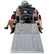 "Big Boy EZ Rizer (MF3-12047-EZ) ,120"" Folding 3-pc EZ-Rizer Aluminum Motorcycle Loading Ramp System"