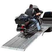 """Big Boy EZ Rizer (MF3-14447-EZ) ,144"""" Folding 3-pc EZ-Rizer Aluminum Motorcycle Loading Ramp System"""