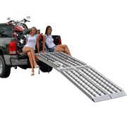 "Big Boy II (MF2-12038) ,120"" Big Boy II Folding Aluminum Motorcycle, ATV, UTV, Lawn & Garden Loading Ramp"