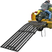 "Black Widow (BW-10840-HD) ,108"" Black Widow 3-Piece Heavy Duty Folding Arched Motorcycle Ramp"