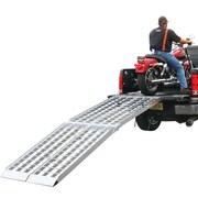 "Discount Ramps (MF2-10838) ,108"" Big Boy II Folding Aluminum Motorcycle, ATV, UTV, Lawn & Garden Loading Ramp"