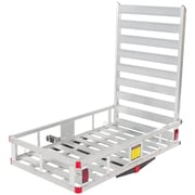 Discount Ramps (WCC-500A) ,Economy Hitch Mounted Mobility Scooter Carrier Rack with Ramp