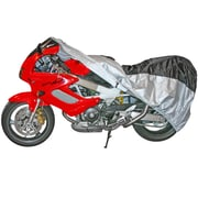 Discount Ramps (MC-XL) ,Extra Large Dust Cover for Touring & Full Dress Cruiser Motorcycles with Fairings or Bags