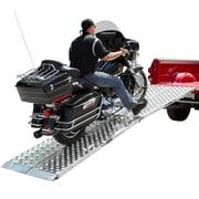 "Big Boy (MF2-14438-EZ) ,Big Boy EZ Rizer 2-Piece 144"" Aluminum Motorcycle Loading Ramps"
