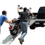 "Big Boy EZ Rizer (MF1-12019-EZ) ,120"" Folding 1-pc EZ-Rizer Aluminum Motorcycle Loading Ramp"