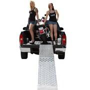 """Big Boy EZ Rizer (MF1-14419-EZ) ,144"""" Folding 1-pc EZ-Rizer Aluminum Motorcycle Loading Ramp"""