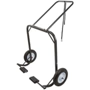 Black Ice (SNO-1509) ,Snowmobile Dolly Cart, Hoist & Lift with Large Pneumatic Wheels